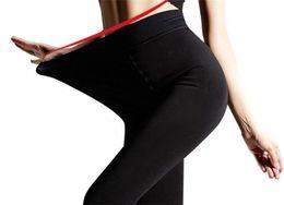Calzamaglia di velluto più il formato online-Collant taglie forti Collant donna Collant 200 den Intimo elastico alto Collant in velluto Calze femminili Collant per ragazze