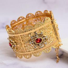24 k Altın Kadınlar için Bilezik Altın Dubai Gelin Zirkon Düğün Etiyopya Bilezik Afrika Bileklik Arap Takı Zirkon bilezik supplier gold bracelets 24k for woman nereden kadın için altın bilezik 24k tedarikçiler