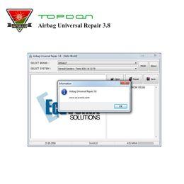 programadores universales Rebajas Topdon Airbag Universal Repair 3.8 reparación de la ECU del programador de aibag Airbag Reset