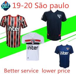 Campeonato de futebol on-line-2019 20 Brasil São Paulo Campeonato de futebol NENE Maillot São Paulo Camisa de futebol 2020 JUCILEI DIEGO SOUZA EVERTON Maillot de pé