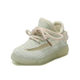 Zapatos de bebe talla 2.5 online-Venta caliente Zapatos de bebé Nueva moda Niños Zapatos de diseño Niños Niñas Bebés Zapatos para niños Suela suave Antideslizante Zapatillas de deporte para niños Zapato otoño tamaño 15-25