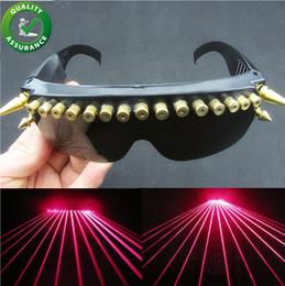 óculos de rocha Desconto Designer de luxo Óculos LEVOU Óculos de Laser de Estágio DJ KTV Óculos de Natal Evento de Festa de Discoteca Bar Luz Hip Hop Rock Suprimentos Presente de Casamento Fresco