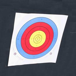 accessori di destinazione Sconti Full Ring Tiro con l'arco Target Paper Bow And Arrow Outdoor Special Shooting Training Papers Accessori tattici creativi
