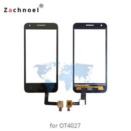 4.5 '' Screen per Alcatel One Touch Pixi 3 4027 schermo 4027X 4027D OT4027 Digitizer sensore di vetro del pannello Parti di ricambio supplier alcatel parts da parti di alcatel fornitori