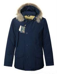 casacos de anorak para homens Desconto Lã de moda rico dos homens Ártico Anorak Para Baixo jaquetas Homem Inverno ganso jaqueta 90% Ao Ar Livre Grosso Parka Casaco quente outwear
