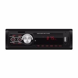 mini rádio usb remoto Desconto Auto rádio bluetooth handsfree lcd subwoofer 1 din car áudio usb / sd / aux / mini cartão de quatro canais de rádio de controle remoto do carro
