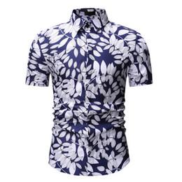 4f5178633c Mens Summer Beach Hawaiian Shirt 2018 Brand Short Sleeve Plus Size Floral  Shirts Men Casual Holiday Vacation Clothing Camisas cheap beach vacation  clothing