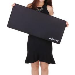 Размер коврика для мыши онлайн-Игровой коврик для мыши M / L / XL большой размер равнина расширенный анти-скольжения игры коврик для мыши стол коврик для ПК ноутбук ноутбук