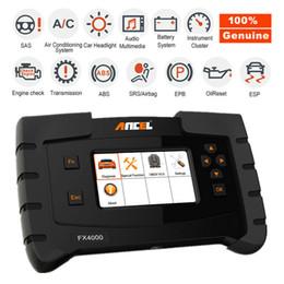 2019 mejores escáneres de código ANCEL OBD2 Escáner de coche Diagnóstico Motor Codificación SRS ABS EPB ESP Herramienta de sistema completo
