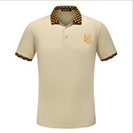 Canada Nouveau style printemps et été. AAA hommes de haute qualité boutique d'impression à manches courtes POLOt t-shirt livraison gratuite. Taille m-xxxl-Q5 Offre