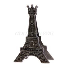 Mesaj Dekorasyon Fotoğraf için Vintage Eyfel Kulesi Paris Metal Memo Kağıt Klip nereden