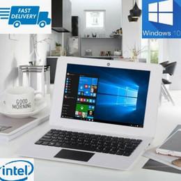 tablet pc 8gb Desconto PC Laptop 10.1 polegadas 2 GB + 32 GB do Windows 10 Intel Atom X5-Z8350 Quad Core Computador