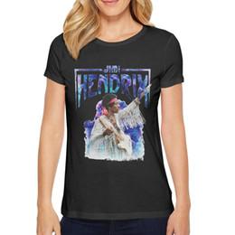 Vestiti liquidi online-Abbigliamento donna magliette Tee Cable Casual Essential Jimi Hendrix Liquid Cloud