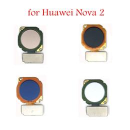reparar escáner Rebajas para Huawei Nova 2 escáner de huellas dactilares Botón de inicio Cable flexible Sensor de ID táctil Sensor de retorno Cable flexible Repuestos de repuesto
