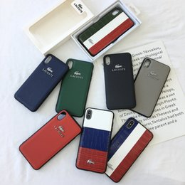 Krokodil telefon abdeckungen online-Luxuskrokodillederfall für iphone 7 8 plus x xs xr xs maximales Retro- Weinlese croc Telefon umkleidet Abdeckung 7 Plus