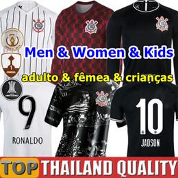 2019 camisetas de fútbol de calidad tailandesa ee. Calidad tailandesa 2019 2020 Corinthians Paulista Camisetas de fútbol 19 20 RONALDO CLAYTON JADSON ROMERO M.GABRIEL Camiseta de futbol Hombres mujeres Kit de niños