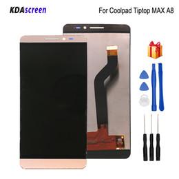 Para coolpad Tiptop MAX A8 Pantalla LCD Táctil Digitalizador Piezas de teléfono Para Coolpad A8-531 A8-930 A8-831 Pantalla LCD Herramientas gratuitas desde fabricantes