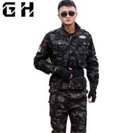 Taktik Ceket Tarzı Giyim Kot Erkek Asker Ceket erkek ABD Ordusu Kamuflaj Mont cheap soldier jacket nereden asker ceketi tedarikçiler
