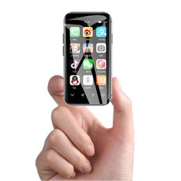2gb ram 32gb rom teléfonos online-ID de la cara SOYES XS Mini Smartphone 2GB / 3GB RAM 16GB / 32GB ROM Android 6.0 4G Wifi GPS uper Mini Pocket Teléfono móvil