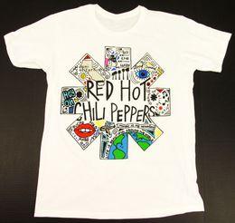 2019 красный перец чили Мужчины Red Hot Chili Peppers Причинные шорты Энтони Кидис Мужская летняя футболка с коротким рукавом с принтом с круглым воротом с принтом дешево красный перец чили