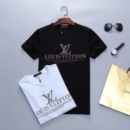 camiseta del monopatín del palacio Rebajas Nueva camiseta corta de verano diseñador de diseñador masculino diseñador de calidad de algodón de moda para hombre camiseta fresca M-3XL 1V