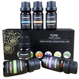 Huile essentielle Ensemble Arôme Naturel Végétal Aroma Thérapeutique Diffuseur Humidificateur Massage Hydrosoluble Huile Essentielle ? partir de fabricateur