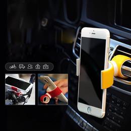 2019 hermosos celulares El soporte para teléfono celular para coche de bicicleta de bicicleta de aire de 360 grados es un soporte hermoso para iPhone 6 Plus / 7/8 / X 3.5-6.0inch Teléfono hermosos celulares baratos