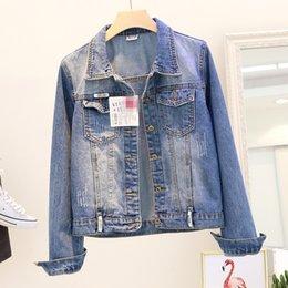 online retailer 415d7 43a62 Rabatt Kurzarm-jeansjacke Frauen | 2019 Kurzarm-jeansjacke ...