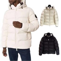 Jaqueta de inverno quente on-line-2020 Mens Designer jaquetas quente grossa com capuz Letters Impressão Casual Jacket Inverno Homens e mulher Down Jacket Tamanho S-2XL