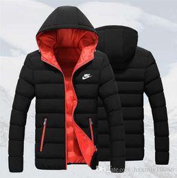 vestes à col montant imperméables Promotion nouveaux hommes de qualité supérieure portent épais nord hiver plein air manteaux lourds doudoune hommes face vestes vêtements 9678