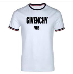marcas t shirt francês Desconto Famosa marca francesa gv homens manga curta marca Designer de alta qualidade gola redonda puro algodão T-shirt