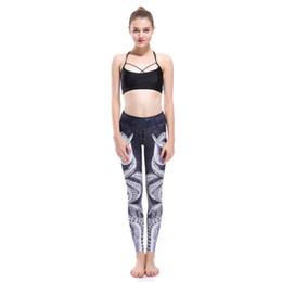 Medias de sandía online-2019 nuevos leggings de verano de otoño Pulpo Caballito de mar Cleopatra Flor de pavo real Pirata Gotas de color Piña Sandía Pantalones de yoga elásticos ajustados