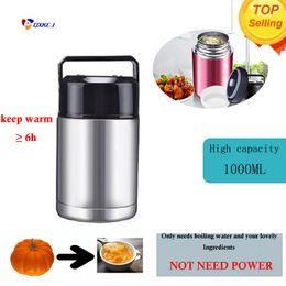 Thermocup 1000 ML l Copo de Café Garrafa Térmica Garrafa De Água Pote De Aço Inoxidável 304 Vácuo Garrafas de