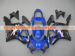 Scaffali personalizzati per honda cbr online-Nuovo kit carene moto a iniezione ABS per HONDA CBR 954RR 954 2002 2003 CBR954RR 02 03 CBR 900RR carenature parti blu personalizzato nere