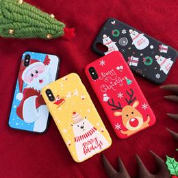2019 weihnachten iphone santa Für iphone x xs xr xs max weihnachtsmann fällen xsyg matt weihnachten telefon abdeckung silikon tpu für iphone 6 7 6 s 8 plus fundas coque günstig weihnachten iphone santa