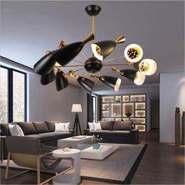 Lampes à pipe vintage en Ligne-plafonniers vintage nordic LED pendentif lampadaire moderne élégant creative foyer salon salle à manger pendentif lumière maison luminaires