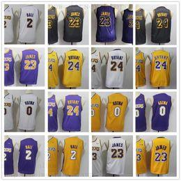 separation shoes 84b06 7d890 garçons lebron Promotion Jeunes Hommes Los Angeles LeBron   23 James Jersey  Enfants Lonzo   2