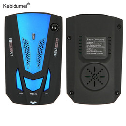 Détecteurs automatiques de voiture de la qualité V7 de Kebidumei Radar de voiture d'avertissement anglais / russe d'avertissement de voiture pour ? partir de fabricateur