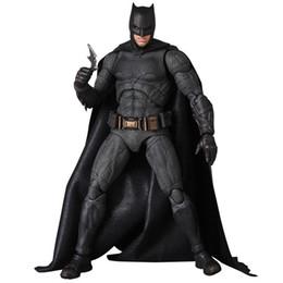 Dc comics acciones figuras online-Marvel DC Comics Batman The Dark Knight Rises PVC figura de acción de colección The Night Night Batman Toy Fans regalo