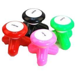 Deutschland Mini-Elektromassagegerät mit Vibrationswelle und USB-Batterie für Ganzkörpermassage Niedliches Mini-Elektromassagegerät mit 4 Farben Versorgung