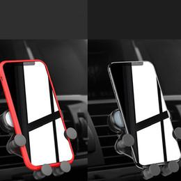 portatori di sfiato Sconti Impugnatura del telefono Si tratta di un supporto del telefono veicolare per il supporto del telefono cellulare per auto gravità gravità One Air Vent