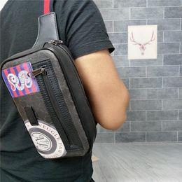 2019nuevo: bolso de cintura para hombre, bolso de pecho, cuero suave, artesanía perfecta, una variedad de estilos para elegir. desde fabricantes