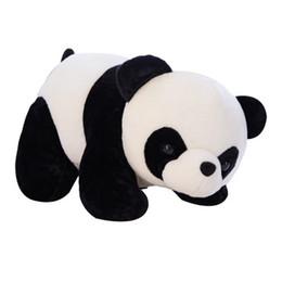 2019 animali carino panda roba New Fashion Simpatico Panda Forma Peluche Peluche Animali Bambola Decorazione Domestica Nuovi Simpatici Giocattoli di Peluche EEA314 sconti animali carino panda roba