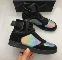 Zapatos hombre mens fashion онлайн-Высочайшее Качество Зашнуровать Открытый Платформа Фитнес Женская Мужская Повседневная Обувь Модные Кроссовки Rivoli Дизайнер Роскошные Туфли Zapatos de hombre