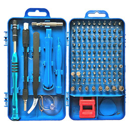 tablet kits Promo Codes - 108 in 1 Screwdriver Sets Multi-function Computer Repair Tool Kit Essential Tools Digital Mobile Cell Phone Tablet PC Repair