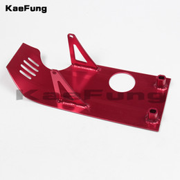125cc engines Promo Codes - Motorcycle Pit Dirt bike parts Skid Plate Engine Case Protection for XR50 CRF50 XR CRF 50 SDG SSR Coolster 70 90 110 125CC