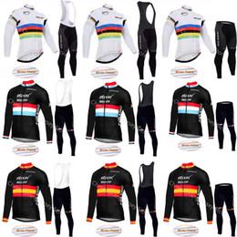 Hızlı adım 2019 Pro Team Bisiklet Jersey Kış Bisiklet Jersey Uzun Kollu Termal Polar Bisiklet Giyim Maillot Ropa Ciclismo A08 cheap cycling team jersey quick step nereden bisiklet takımının forması hızlı adım tedarikçiler
