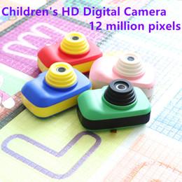 2019 mini appareil photo numérique pour les enfants Appareil photo numérique D1 HD 1080P pour enfants mini-caméra pour enfants, écran de 2,3 pouces, 12 millions de pixels + longue durée promotion mini appareil photo numérique pour les enfants