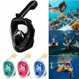 Máscara de mergulho adulto on-line-Adulto Adolescente Máscara de Mergulho Subaquático Scuba Anti Nevoeiro Máscara de Mergulho Máscara Snorkel Máscara de Mergulho Máscara Facial Snorkel MMA1639-1