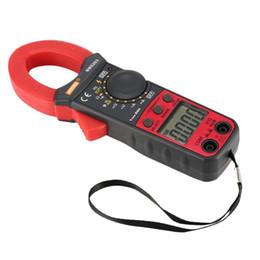 contatore morsetto Sconti Multimetro digitale Multimetro True RMS Automatico Range AC / DC Volt Amp Ohm Capacità Diodo Frequenza Frequenza NCV Tester Buzzer 3999 Conteggi